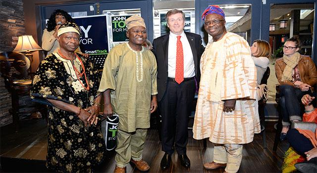 Nigerians with J.Tory