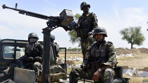 Cameroon troops